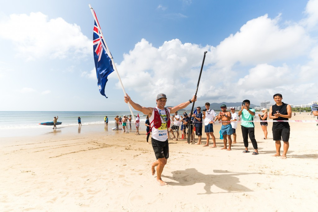 Two gold medals move Australia into first place at ISA World SUP and Paddleboard Championship