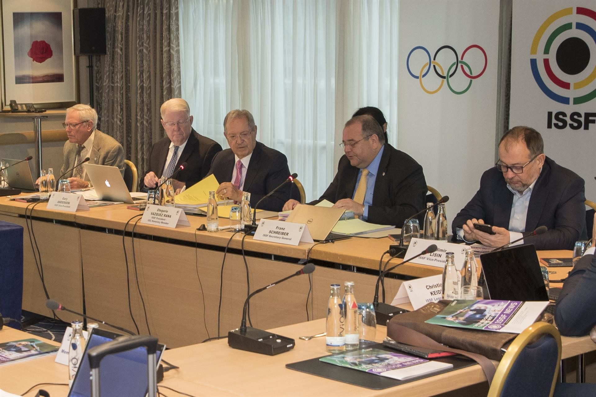 Labour costs at the International Shooting Sport Federation have risen by 22 per cent, according to new accounts ©ISSF