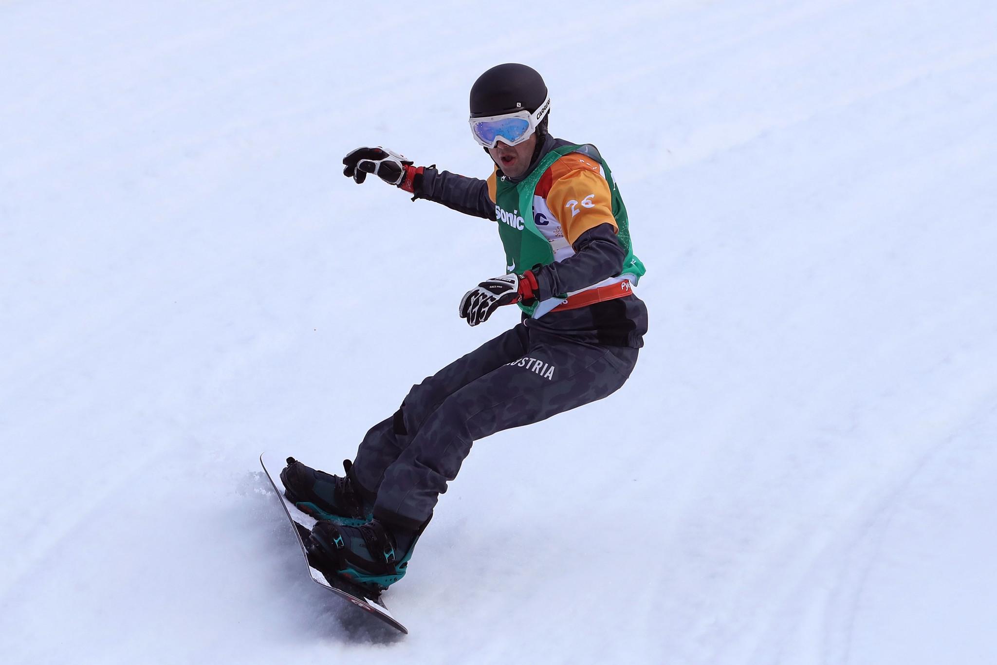 Schett beats Vos to gain first Para Snowboard World Cup win for 22 months