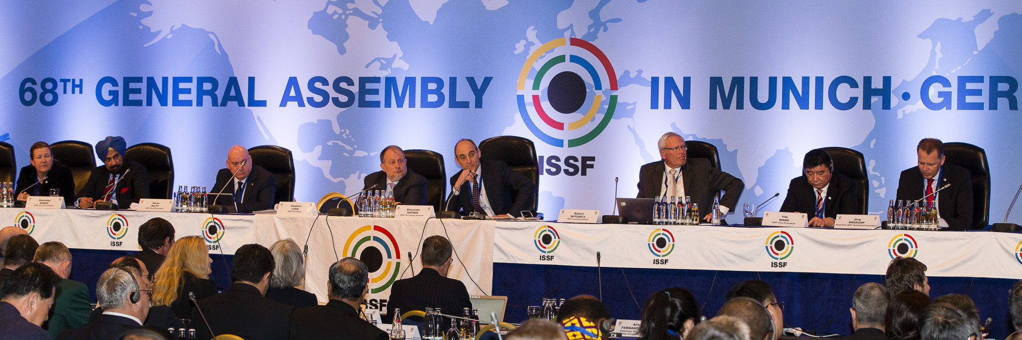 A plan to increase affiliation fees to the ISSF was voted out by a large majority of Member Federations ©ISSF