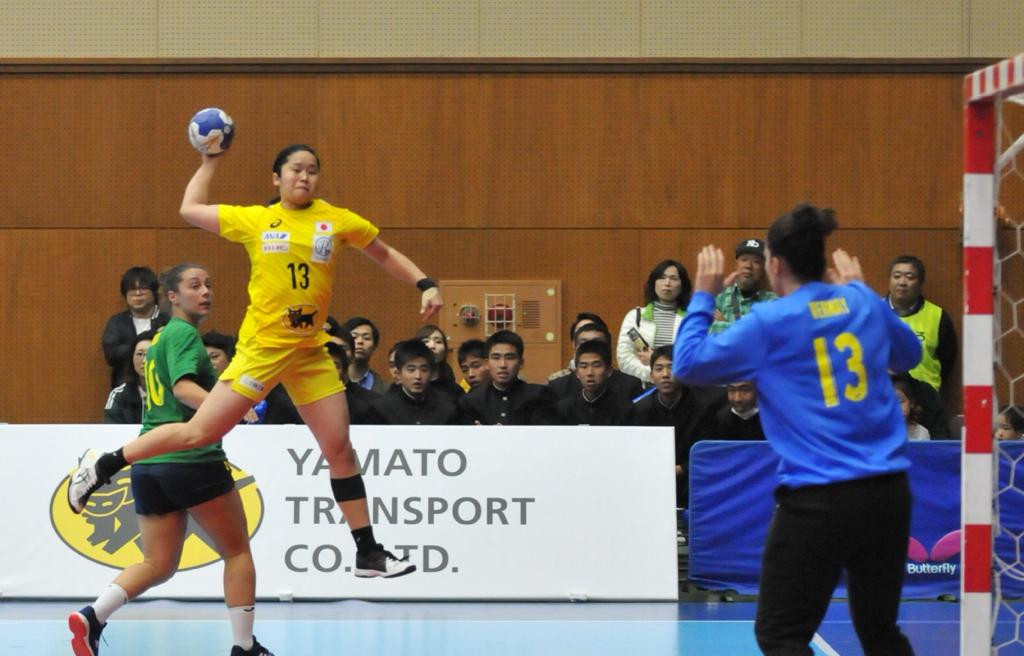 Hosts Japan continue strong start at Asian Women's Handball Championships