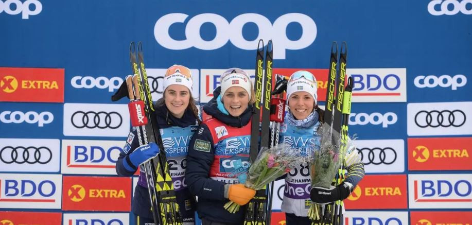 Johaug continues return from doping ban with second successive FIS Cross-Country World Cup victory