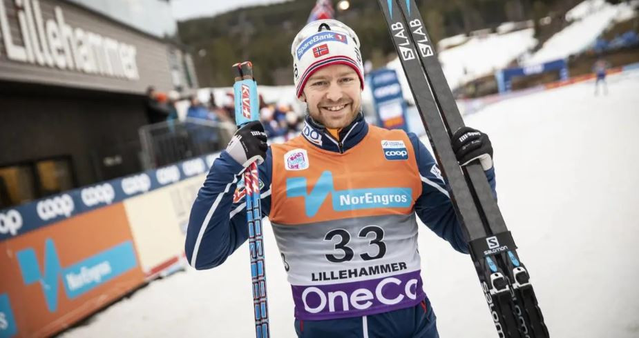 Home athlete Sjur Roethe won the FIS Men's World Cup cross-country title over 15km today on the tracks of Lillehammer ©FIS