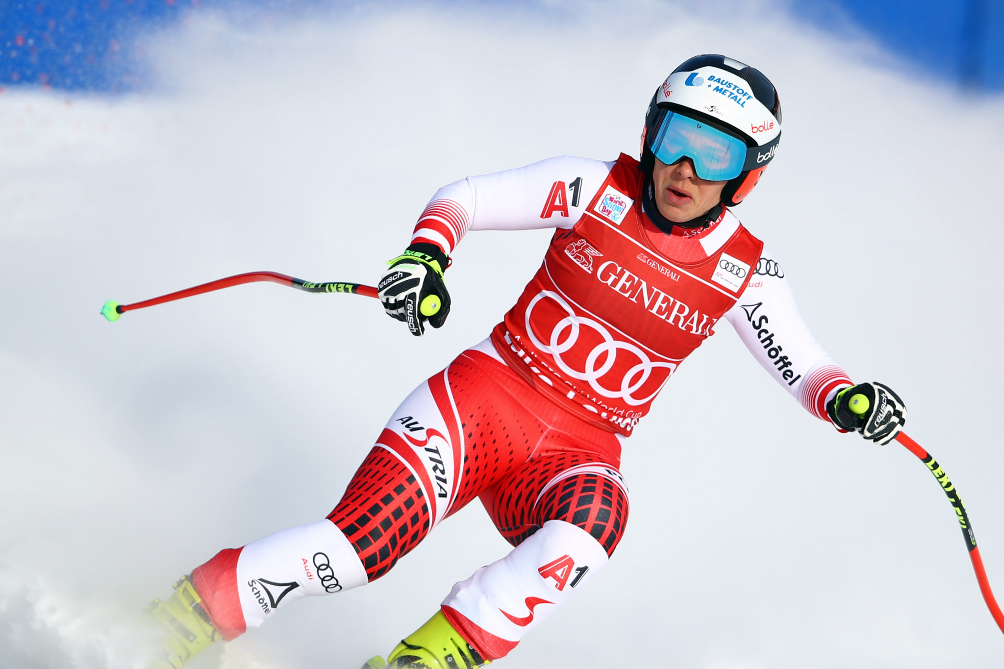 Nicole Schmidhofer won her second consecutive downhill race in Lake Louise ©Getty Images