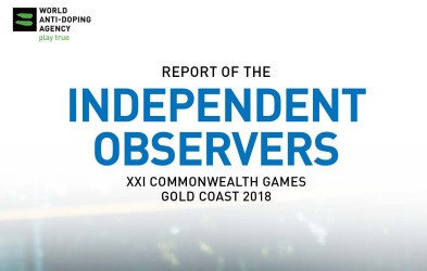 WADA has published the Gold Coast 2018 independent observers report ©WADA