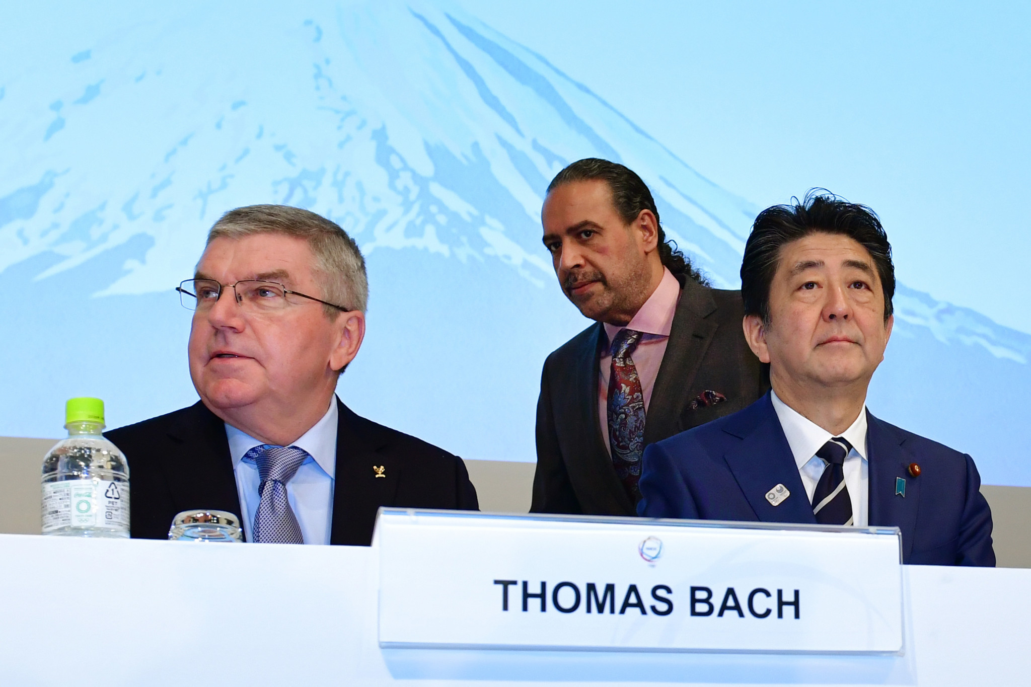 IOC President Thomas Bach personally asked Sheikh to temporarily stand aside as head of the umbrella body last week ©Getty Images