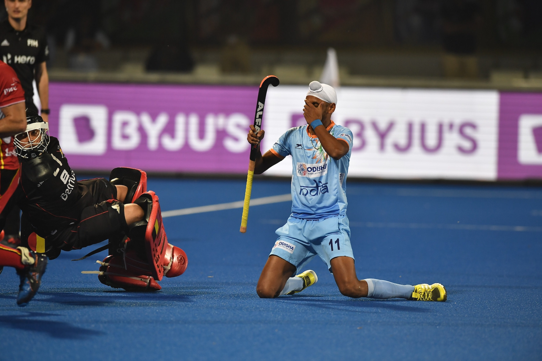 All to play for in Pool C as India and Belgium battle to draw at FIH Men's Hockey World Cup