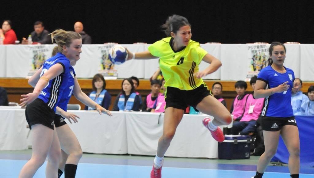 Kazakhstan beat New Zealand 51-14 at the Asian Women's Handball Championships in Kumamoto to remain undefeated in the competition ©Asian Handball Federation