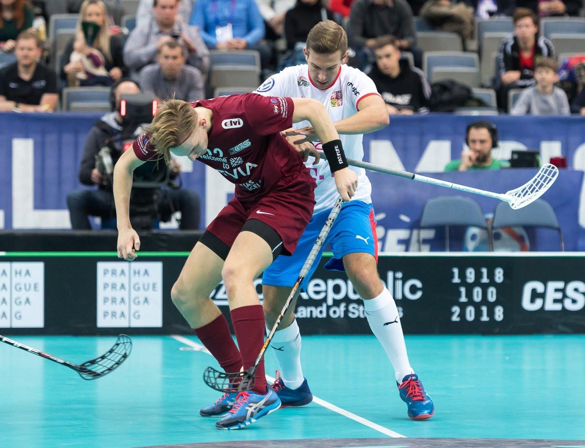 Hosts Czech Republic suffer shock loss to Latvia at Men's World Floorball Championships
