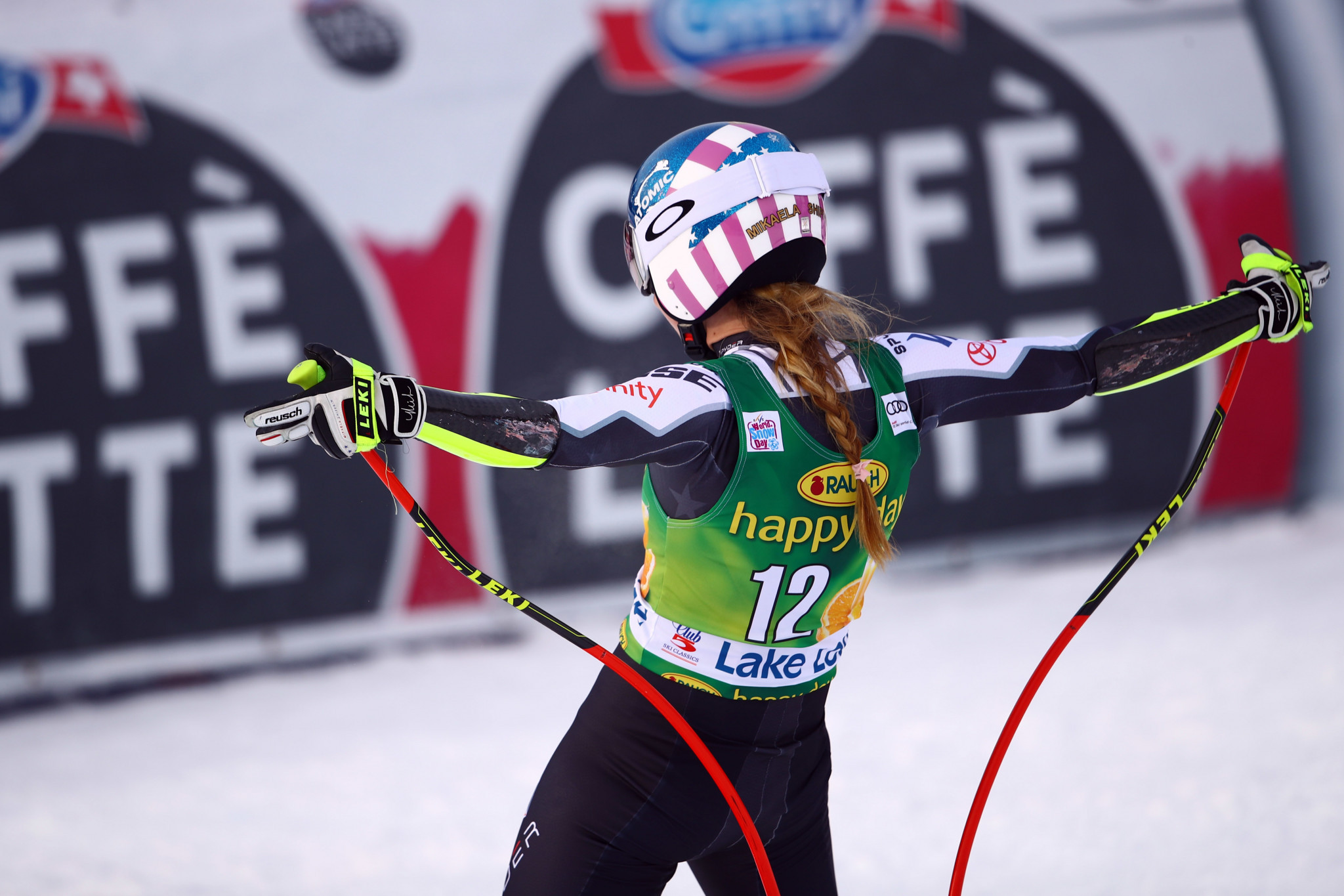 Mikaela Shiffrin became only the seventh woman to earn a victory in each of the major five World Cup disciplines ©Getty Images