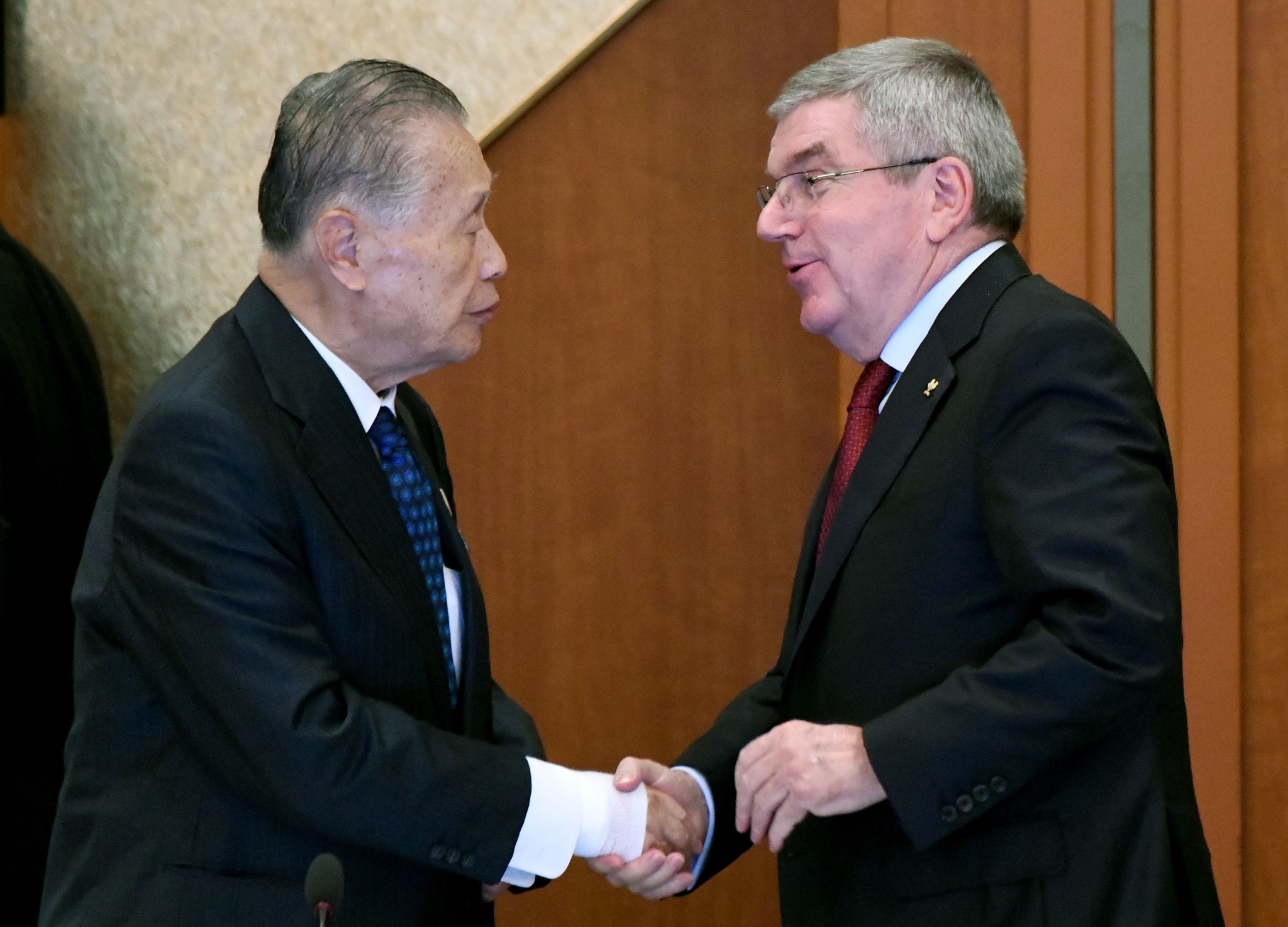 Thomas Bach gave a glowing assessment of the progress made by Tokyo 2020 ©Getty Images