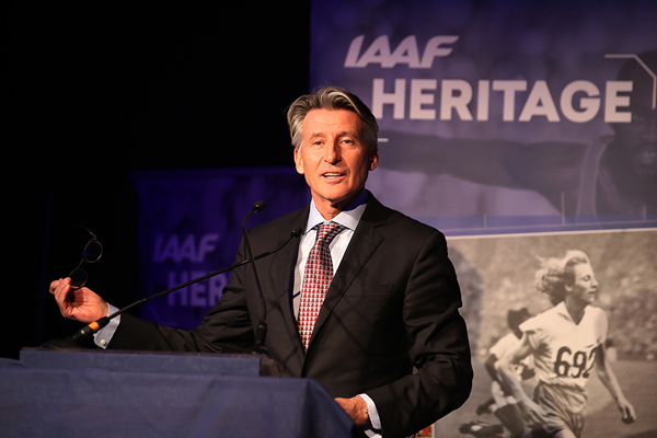 World Athletics Heritage Plaque award launched by IAAF President Coe
