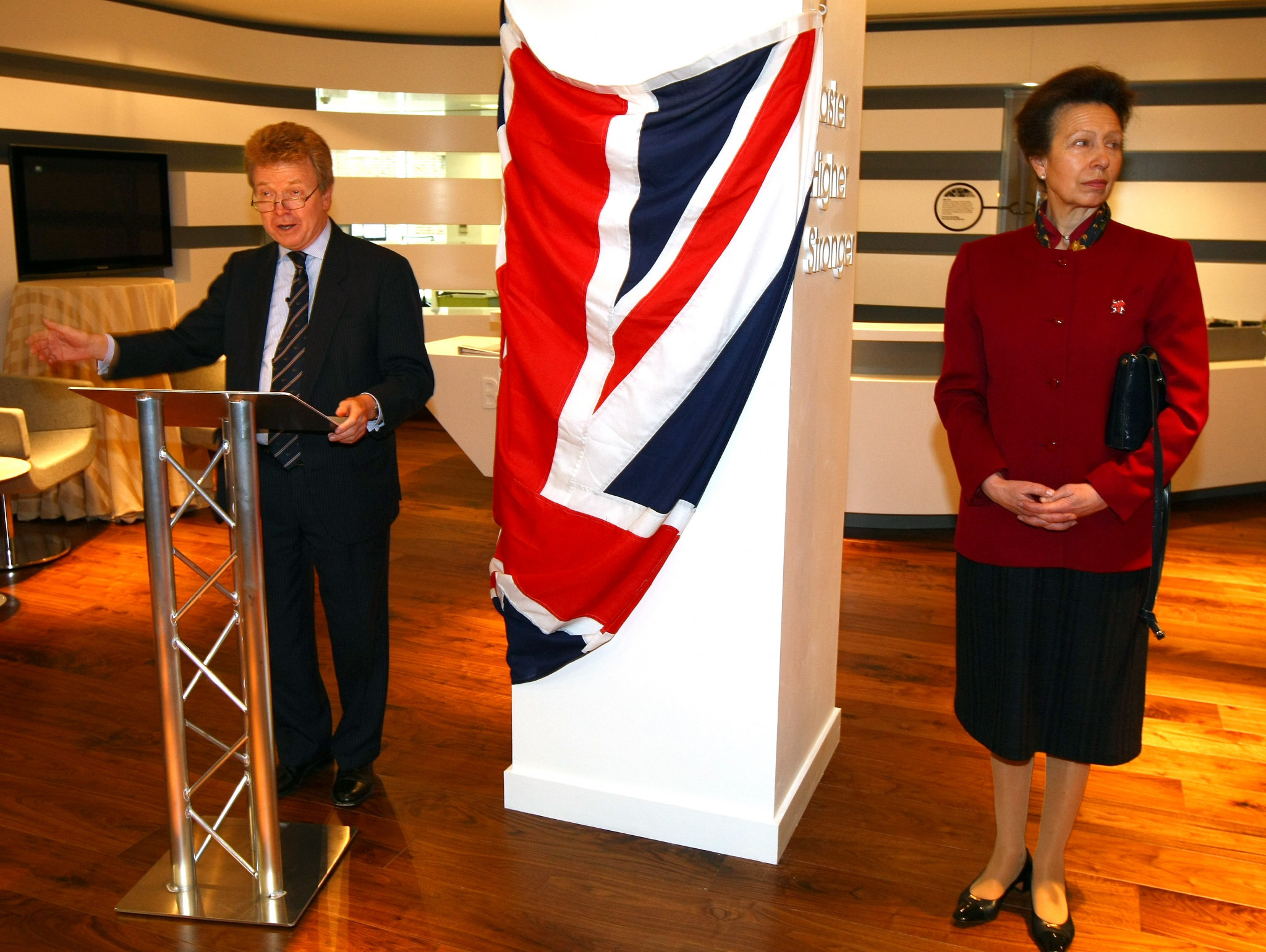 The British Olympic Association will leave their current London headquarters in Charlotte Street, where they have been based since 2009 when the Princess Royal officially opened them ©Getty Images