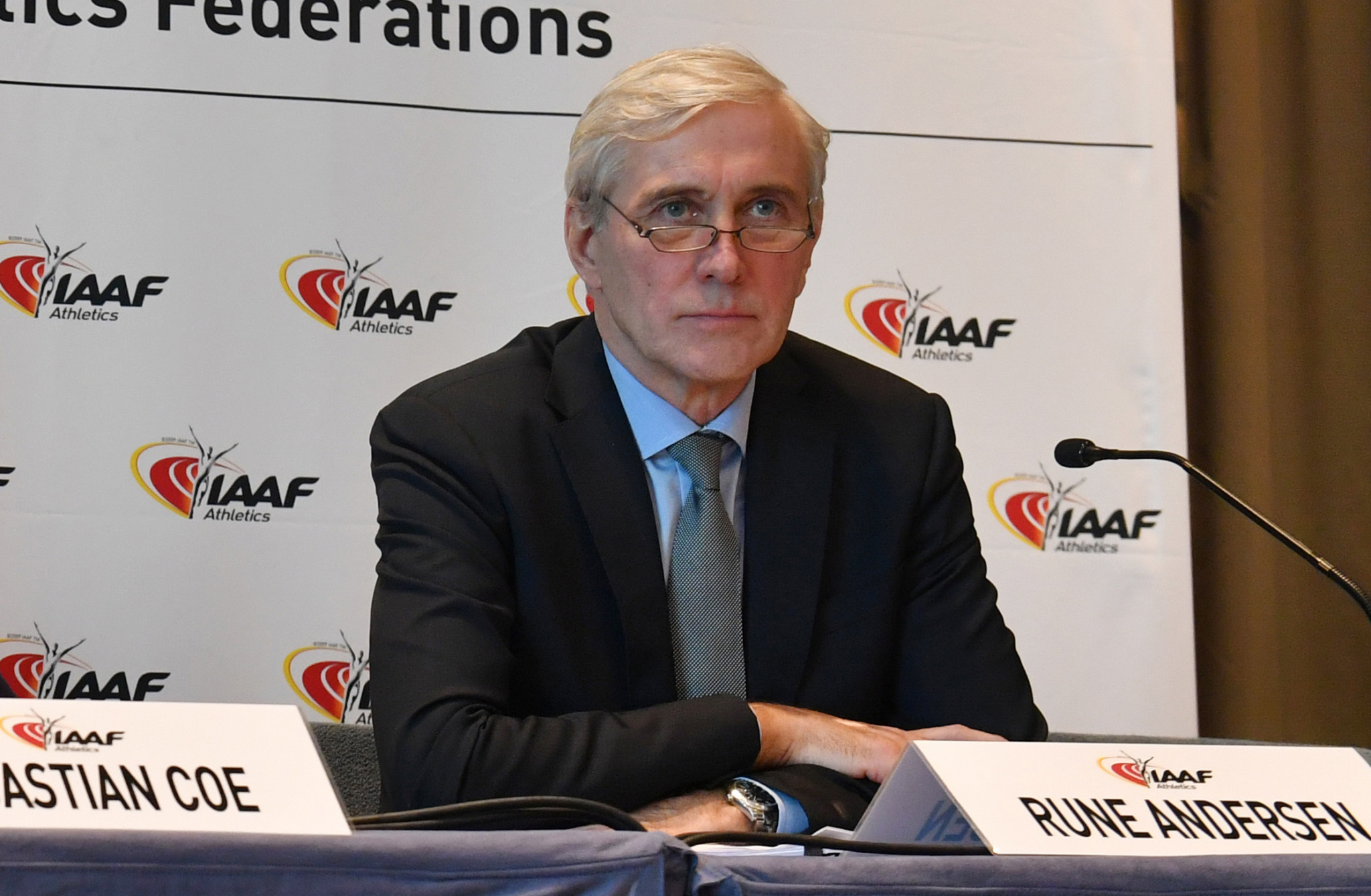 Norwegian Rune Andersen, head of the IAAF Taskforce on Russia, is expected to recommend that a suspension which has already lasted more than three years on the country is again extended ©Getty Images