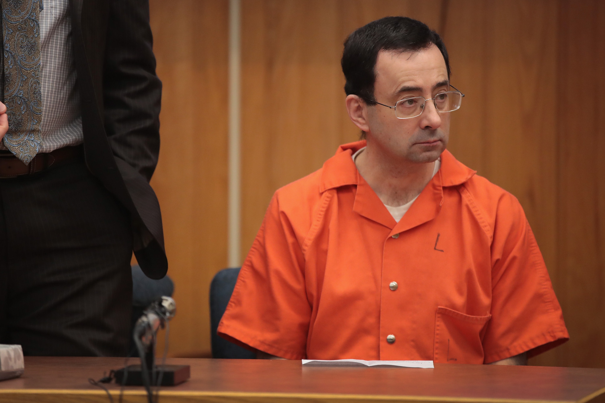 Larry Nassar will spend the rest of his life in prison for sexually abusing young US gymnasts ©Getty Images
