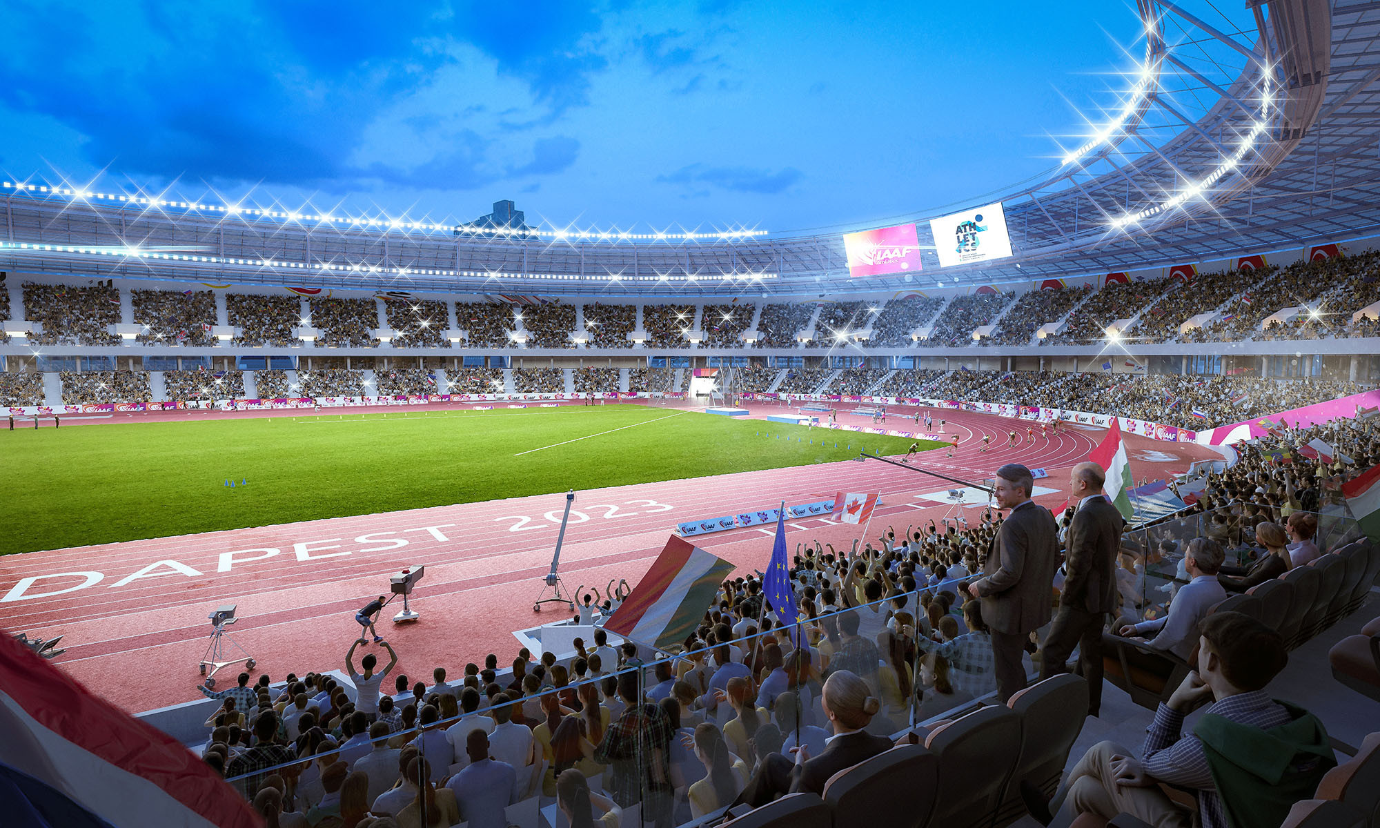 Budapest wants to deliver major events, like the 2023 IAAF World Championships in a
