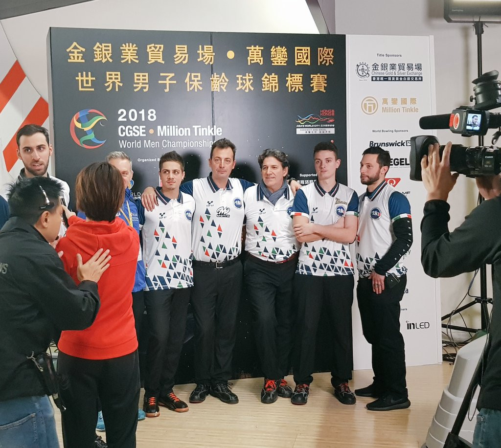 Italy beat United States to team-of-five title at Men's World Tenpin Bowling Championships