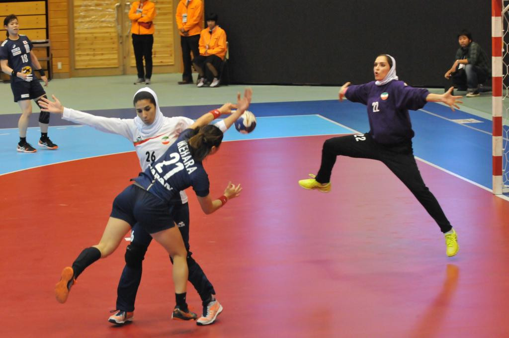 Hosts Japan remain unbeaten in Group A of the Asian Women's Handball Championships ©Asian Handball Federation/Twitter