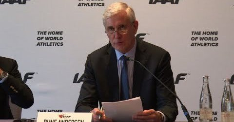 IAAF extend ban on Russia into 2019 until data from Moscow Laboratory received