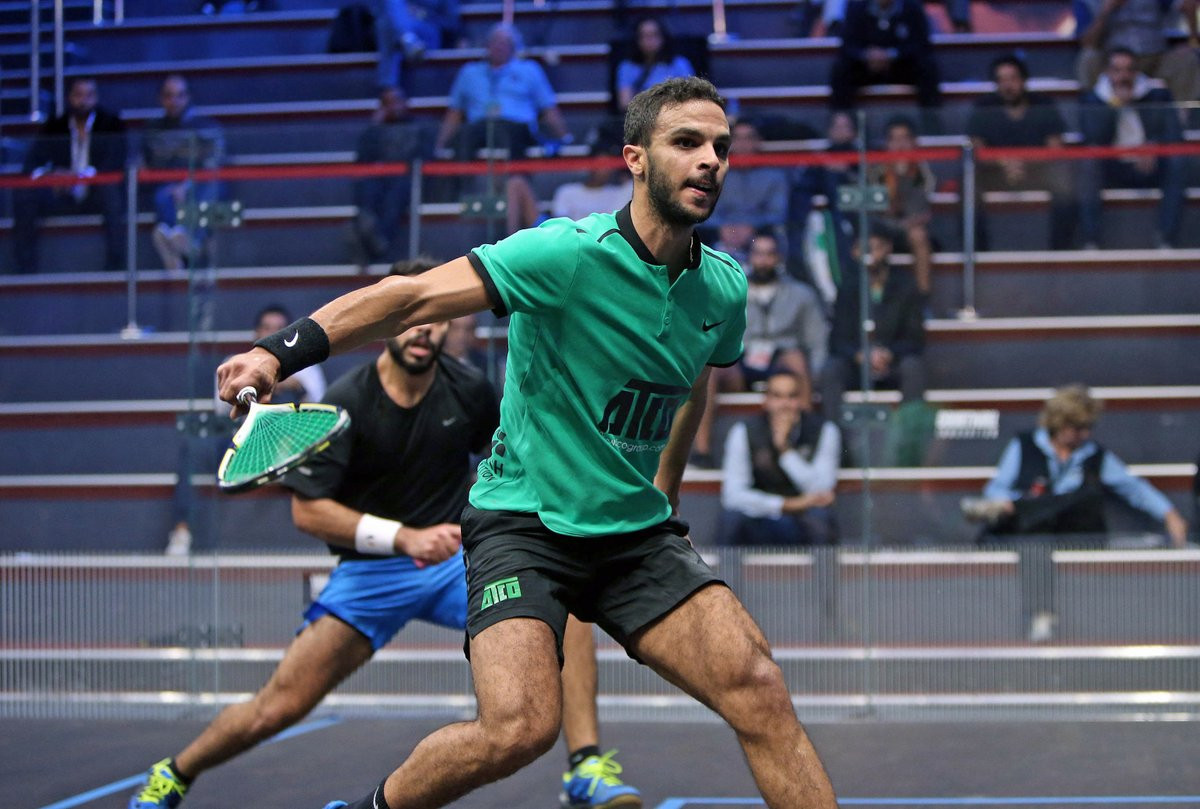 Egypt's Mohamed Abouelghar comfortably earned his place in the last-16 ©PSA World Tour/Twitter