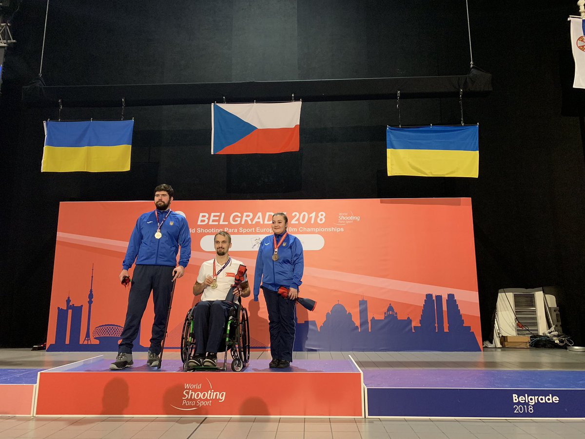 Three gold medals decided at first European Para Shooting Championships for five years