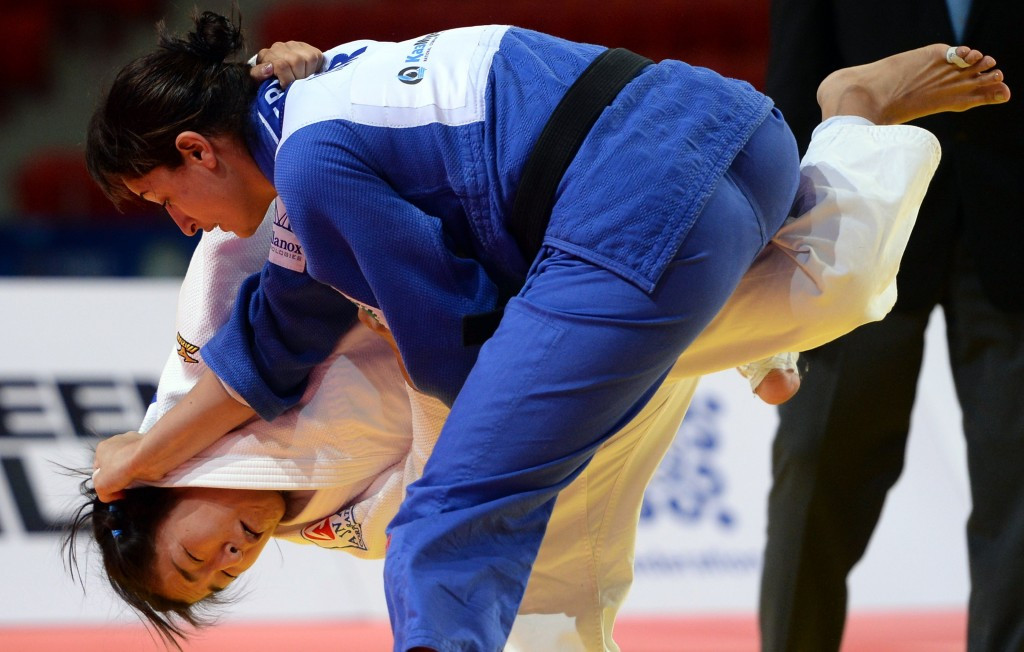 Yarden Gerbi, who won the under 63 kilogram title in 2014, is one of the Israeli athletes now set to compete