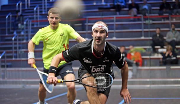 World number three Simon Rösner of Germany has progressed through to the last-16 ©PSA
