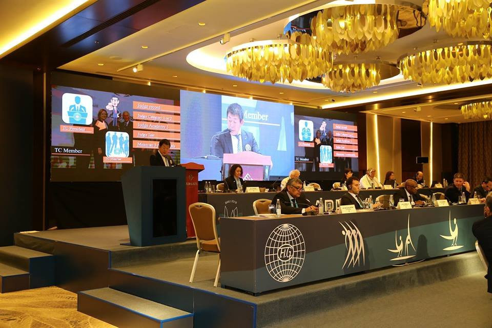 The FIG Congress in Baku has produced a vote in favour of officially incorporating parkour into gymnastics ©FIG