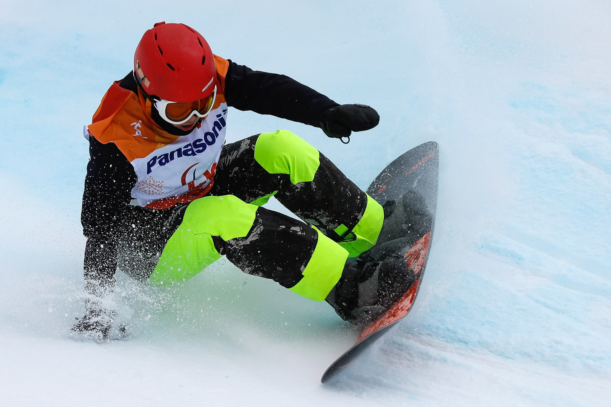 Snowboarders named among IPC nominations for November Athlete of the Month