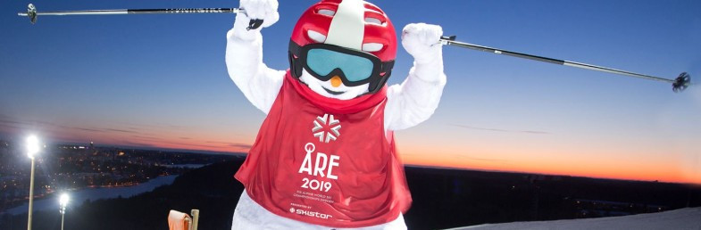 Popular local character Valle the Snowman to be mascot and cheerleader for Åre 2019