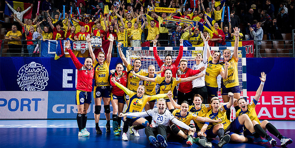 Holders Norway suffer record loss to Romania in European Women's  Handball Championships