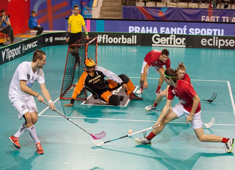 Denmark earn quarter-final against Czech hosts in IFF Men's Floorball World Championships