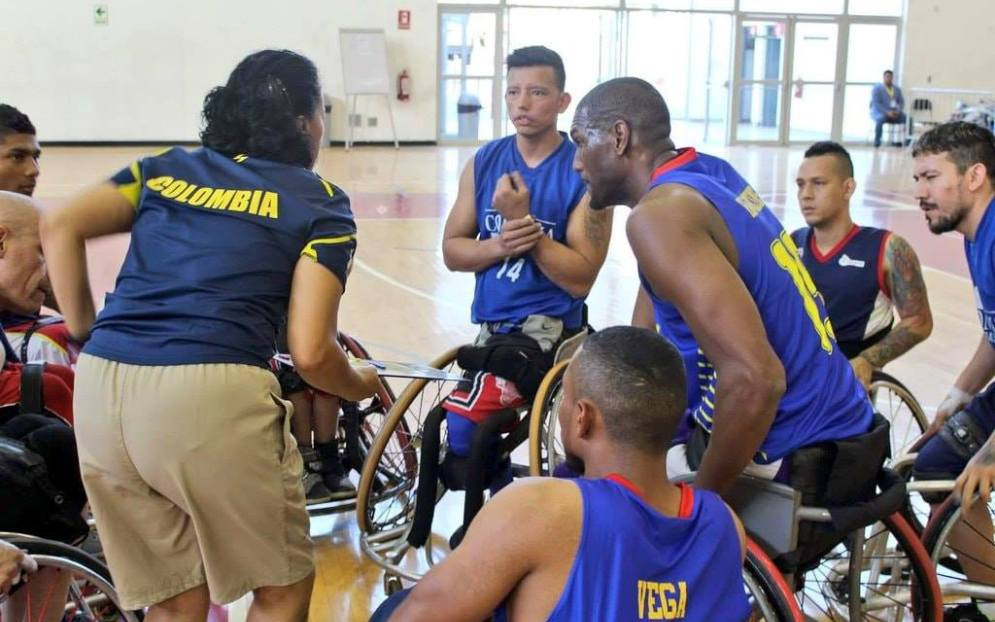 Colombia booked their place in the last four with an 86-36 win over Chile ©IWBF