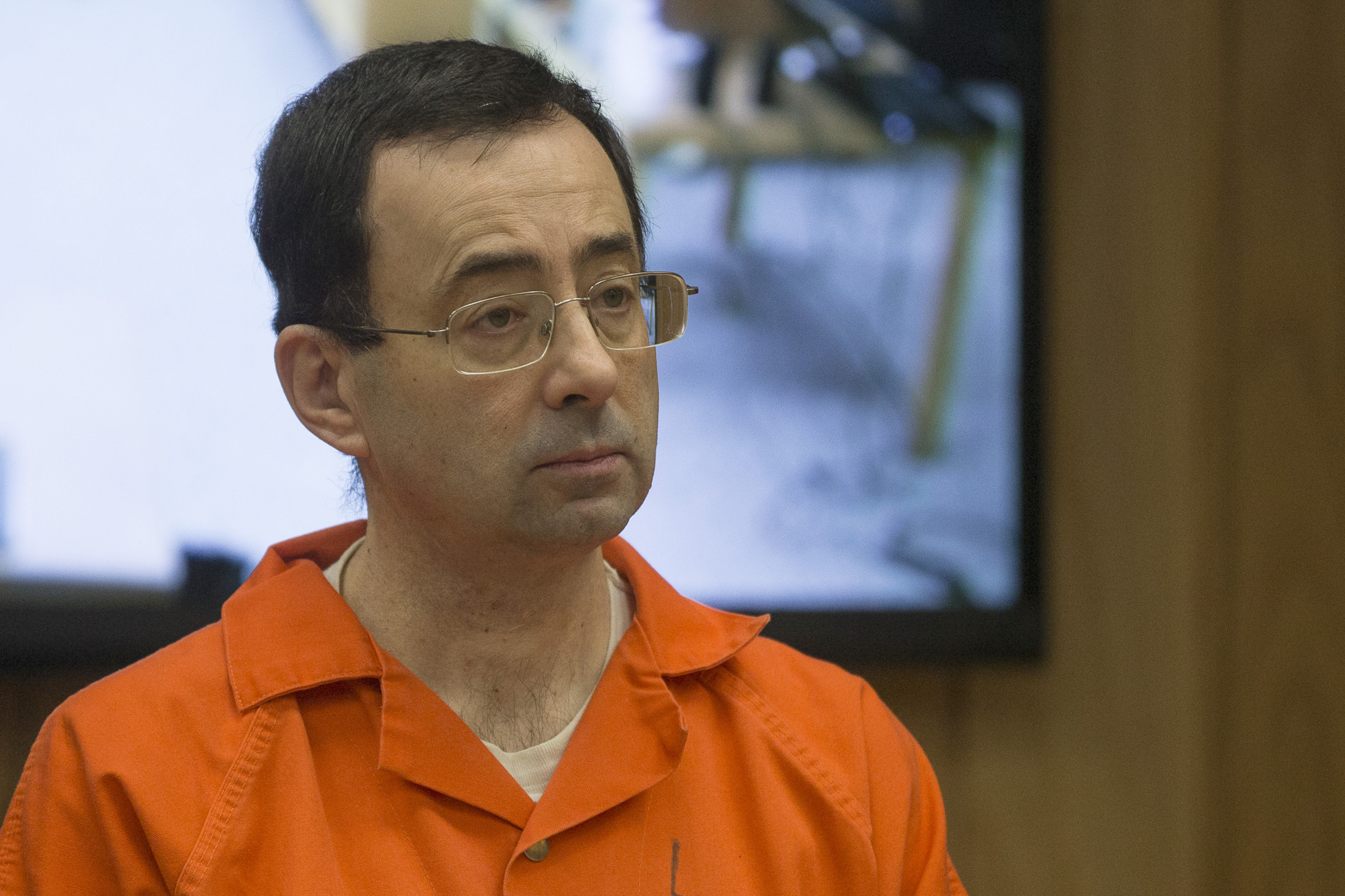 Larry Nassar was found guilty of sexually abusing dozens of American gymnasts under the guise of medical treatment and is now serving up to 175 years in prison ©Getty Images