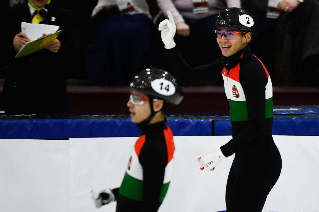 Hungarian brothers Shaolin Sandor Liu and Shaoang Liu are expected to compete for podium places at the ISU Short Track World Cup in Almaty ©ISU
