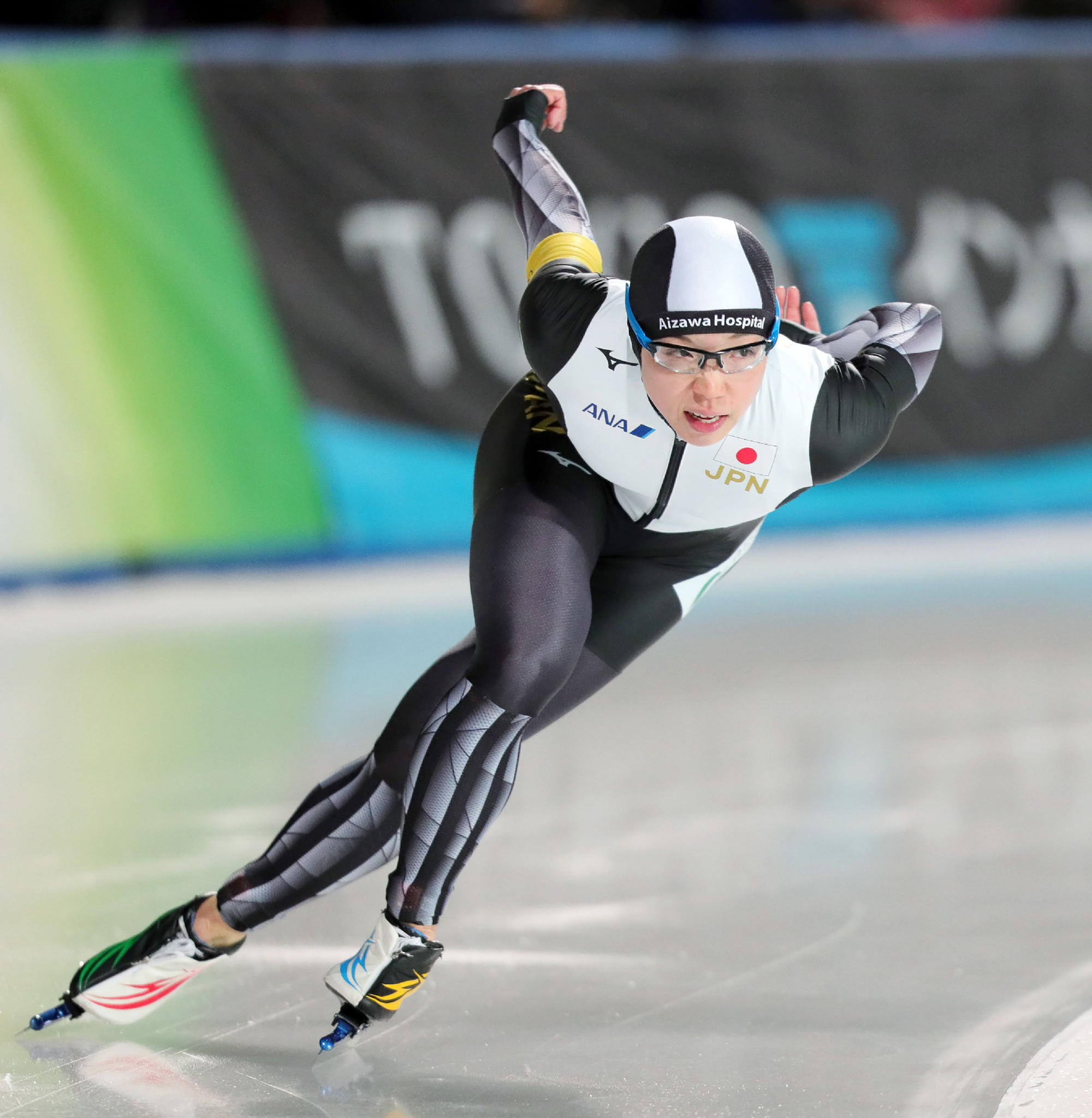 Olympic champion Nao Kodaira is not competing in Poland this weekend ©Getty Images