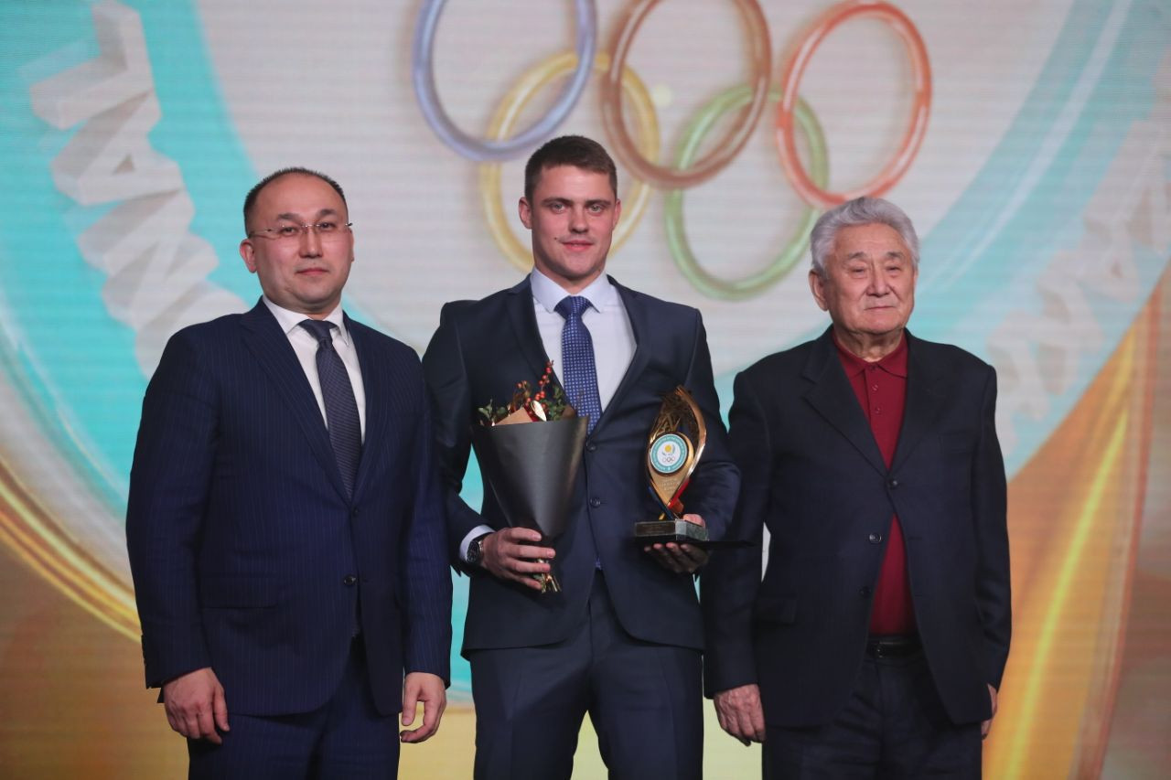 Kazakhstan's NOC holds award ceremony to recognise athletes' achievements