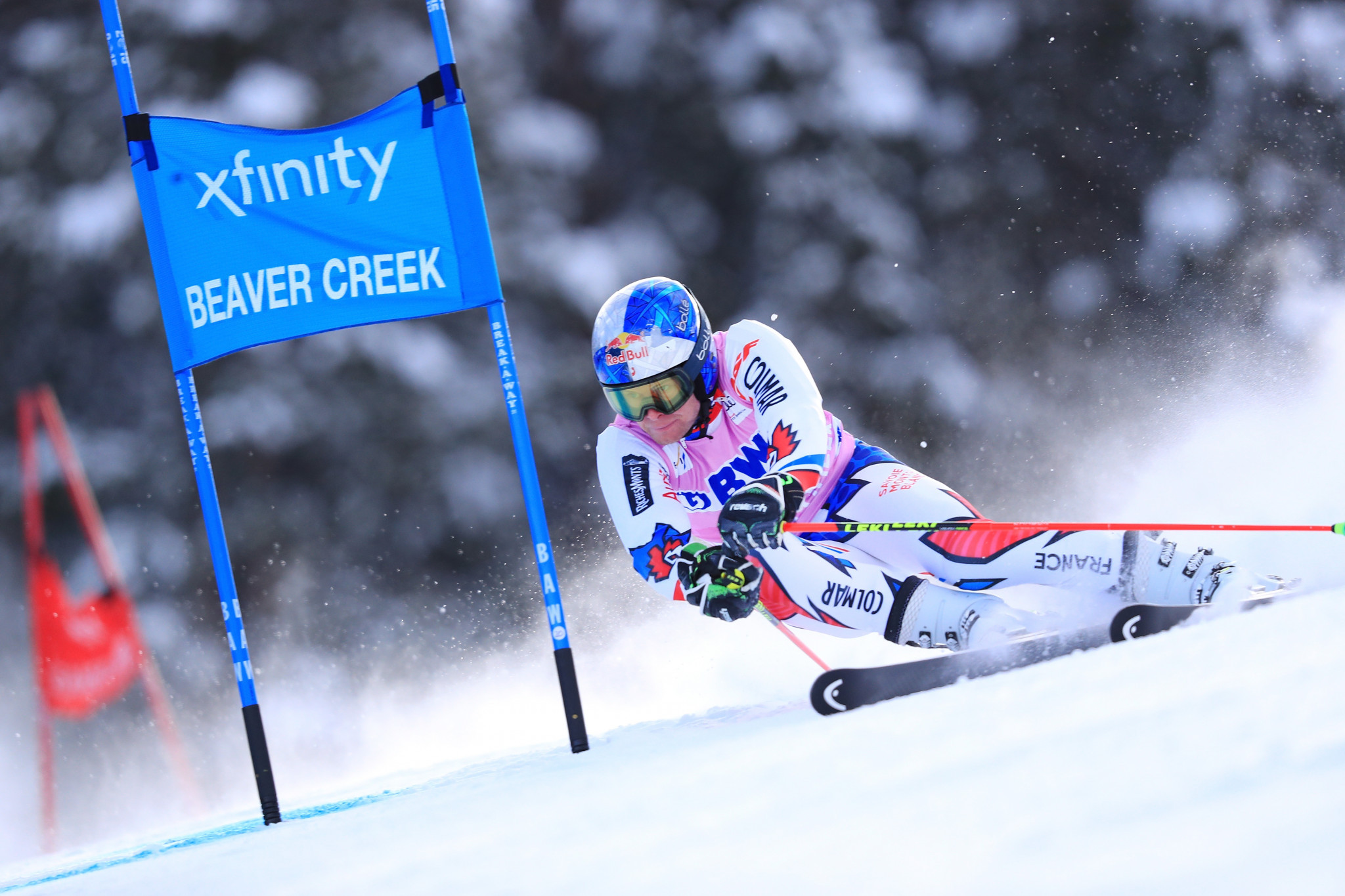 Alexis Pinturault will defend his FIS Alpine World Cup giant slalom title on the home slopes of Val d'Isere ©Getty Images