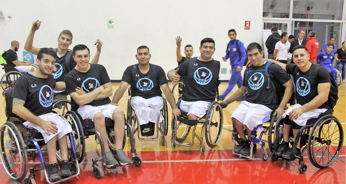 Argentina and Brazil to contest final at IWBF Men's South America Championships
