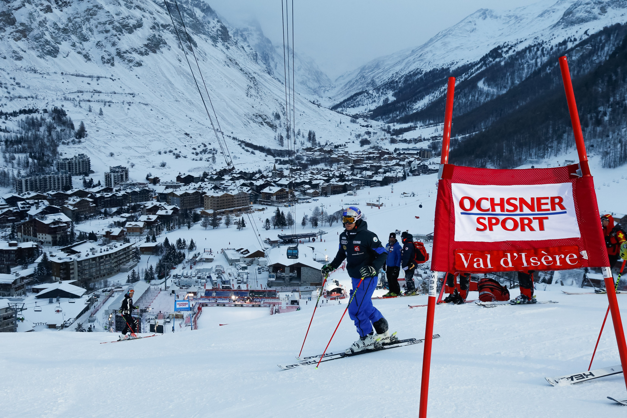 Val d'Isere is prepared for a spectacular return to Europe this weekend for the FIS Alpine Men's World Cup tour ©Getty Images