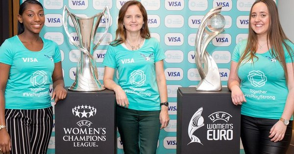 Visa becomes first UEFA sponsor dedicated to women's football
