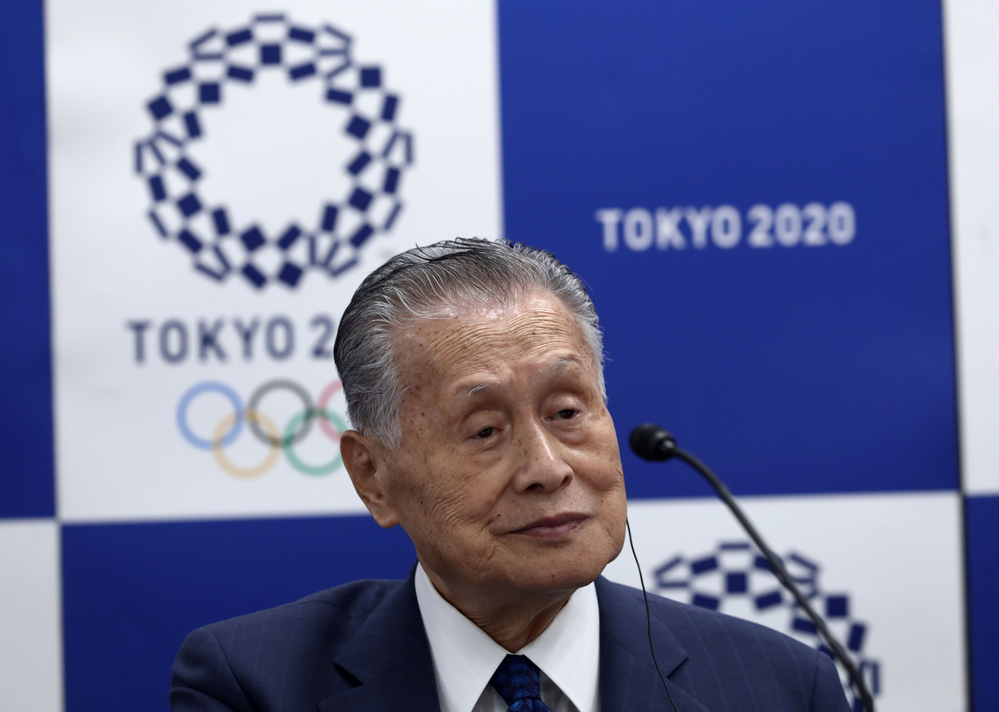 Tokyo 2020 President Yoshirō Mori says the Organising Committee is confident Morisawa will provide valuable support through the design of unique fonts for the Olympic and Paralympic Games ©Getty Images