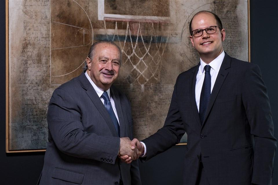 FIBA legal services director Andreas Zagklis has been appointed secretary general ©FIBA