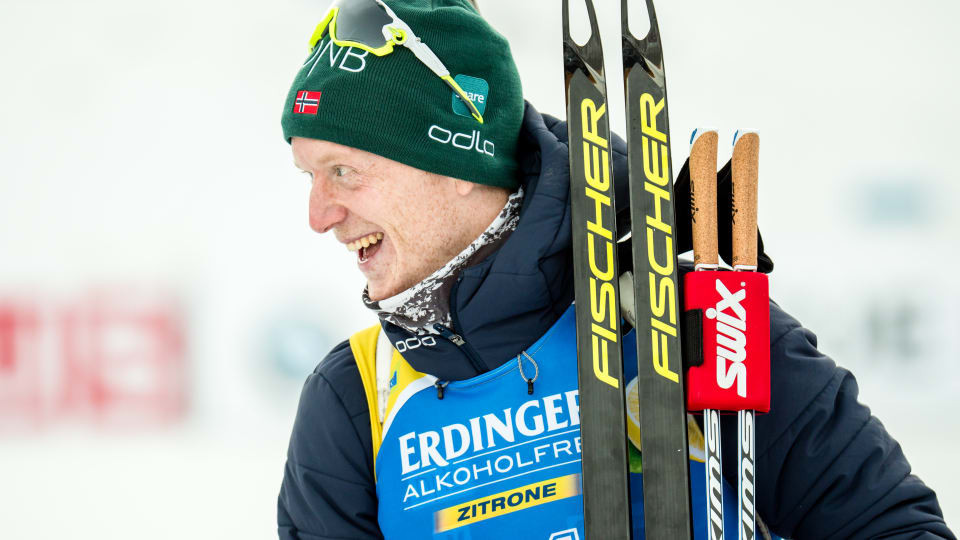 Bø dominates men's 10km sprint race at Biathlon World Cup in Pokljuka