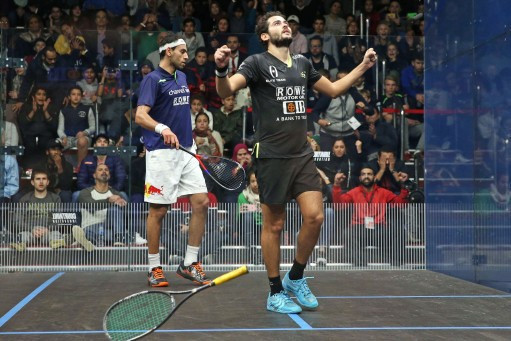 Gawad beats world number one El Shorbagy to reach semi-finals at PSA Black Ball Squash Open