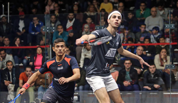 Egyptian Ali Farag also progressed to the semi-finals after he beat India's Saurav Ghosal ©PSA