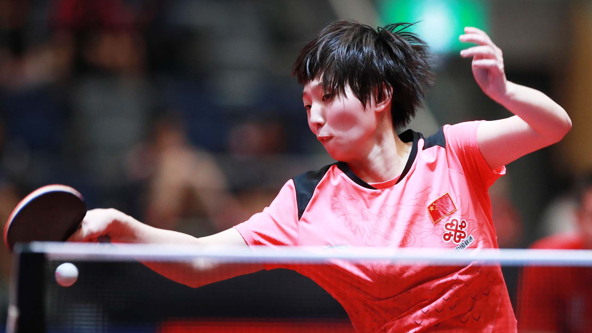 Chinese qualifier Guo Yuhan beat third seed Sabina Surjan on day two of individual competition at the ITTF World Junior Championships in Bendigo ©ITTF
