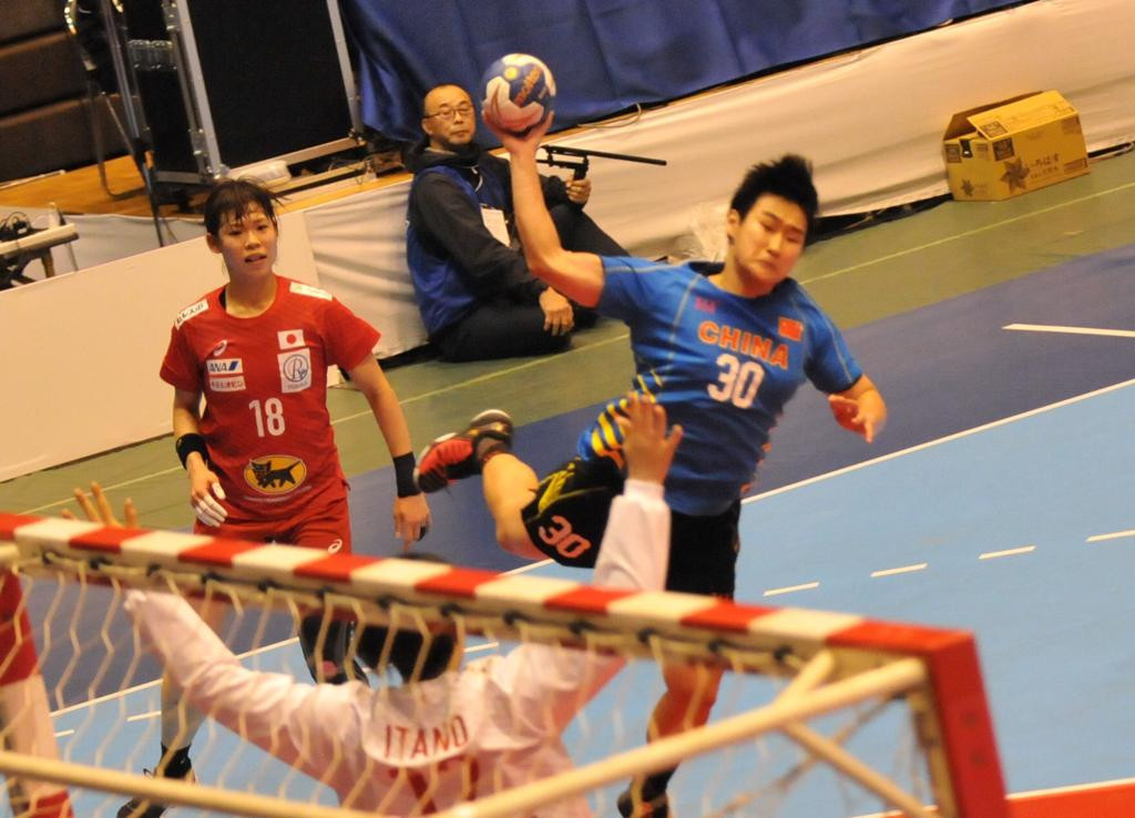Hosts Japan earn final meeting with South Korea at Asian Women's Handball Championships