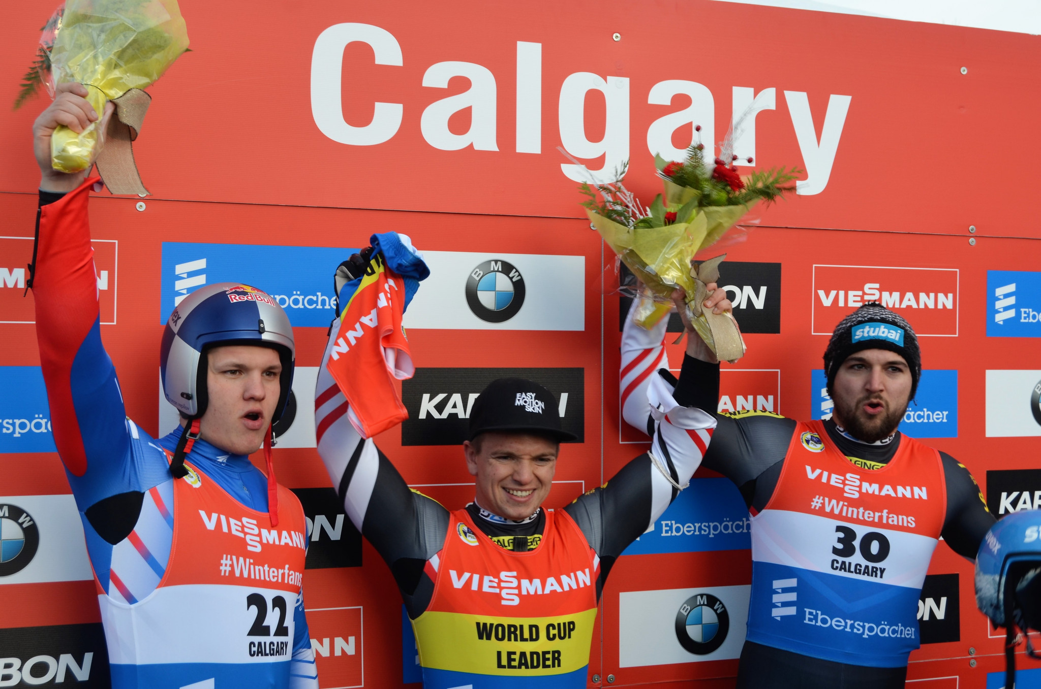 Kindl shines again at Luge World Cup in Calgary