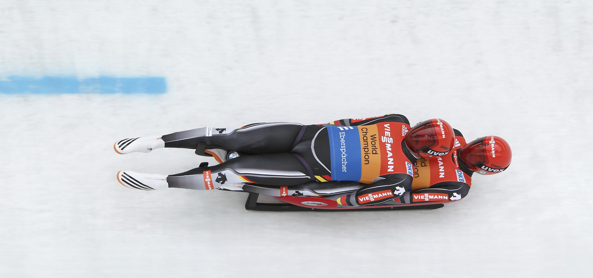 Germany's double Olympic champions Tobias Wendl and Tobias Arlt claimed victory for the first time this season ©Getty Images